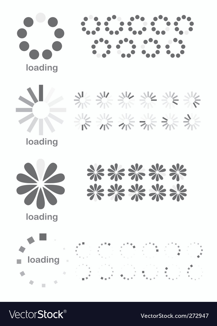 Loading symbols vector | Price: 1 Credit (USD $1)