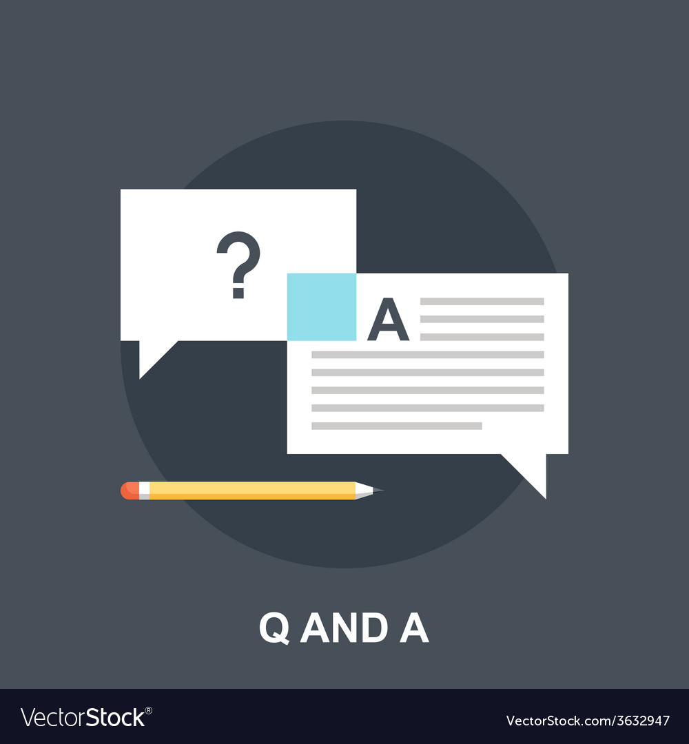Q and a vector | Price: 1 Credit (USD $1)