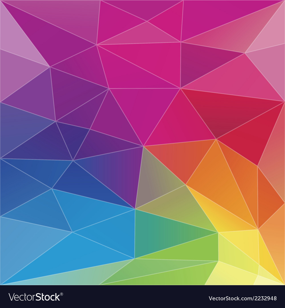 Abstract geometric triangle background vector | Price: 1 Credit (USD $1)