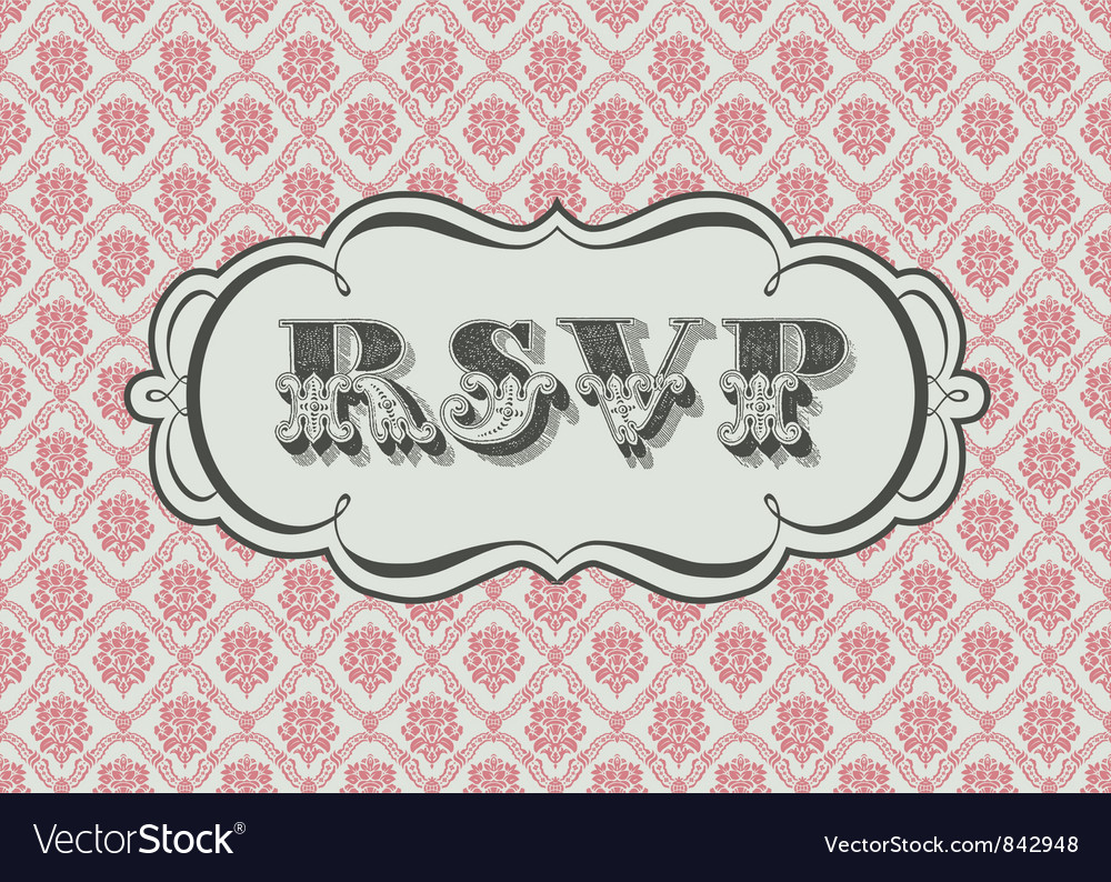 Rsvp vector | Price: 1 Credit (USD $1)