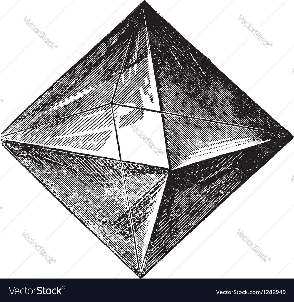 Spinel vintage engraving vector | Price: 1 Credit (USD $1)
