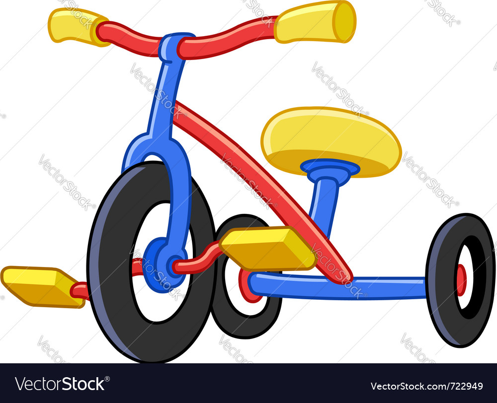 Tricycles vector
