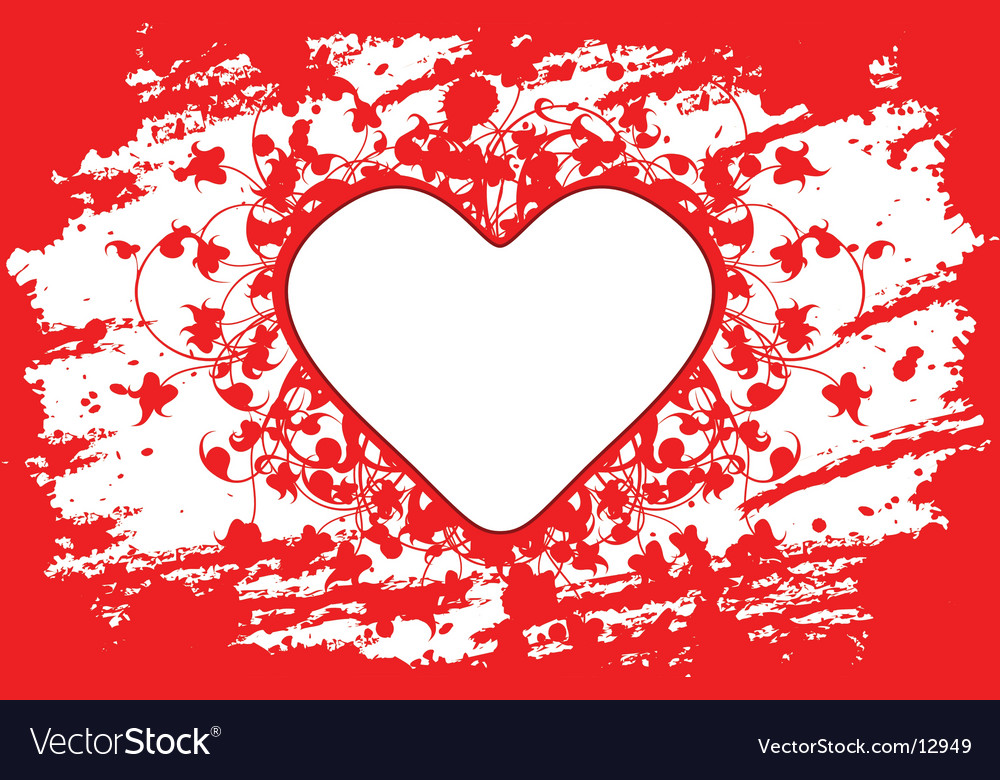 Valentine day heart vector | Price: 1 Credit (USD $1)