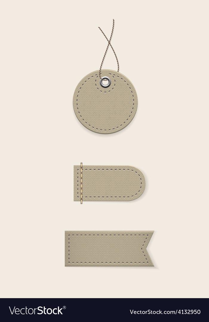 Cardboard tags vector | Price: 1 Credit (USD $1)