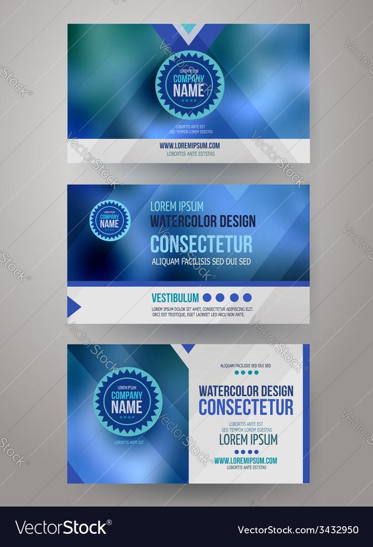 Corporate identity templates vector | Price: 1 Credit (USD $1)