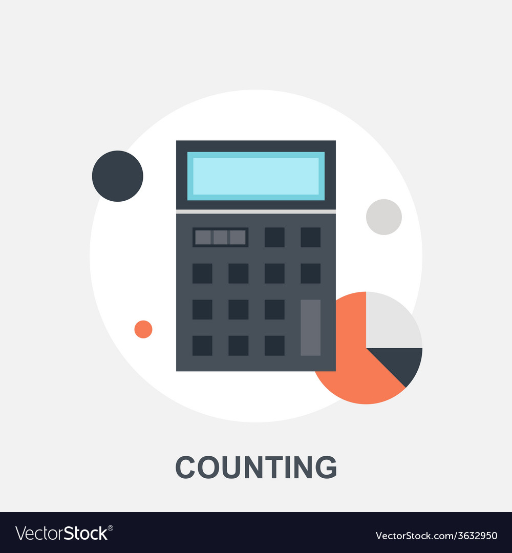 Counting vector | Price: 1 Credit (USD $1)