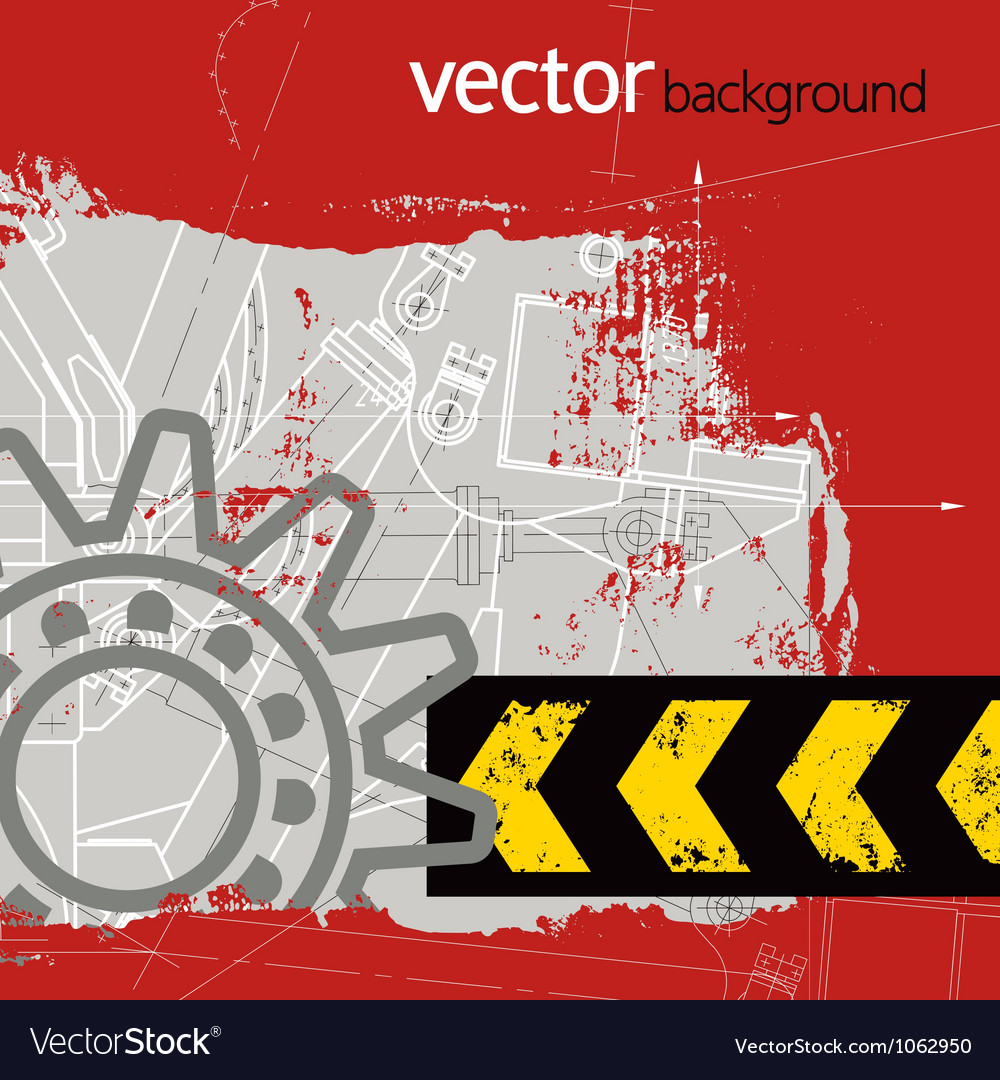Grunge technology background vector   Price: 1 Credit (USD $1)