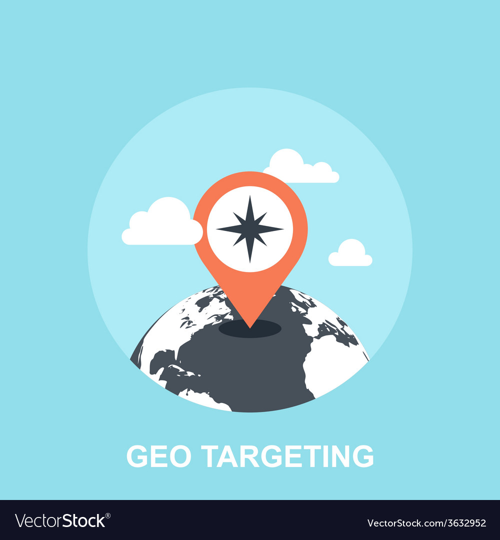 Geo targeting vector | Price: 1 Credit (USD $1)