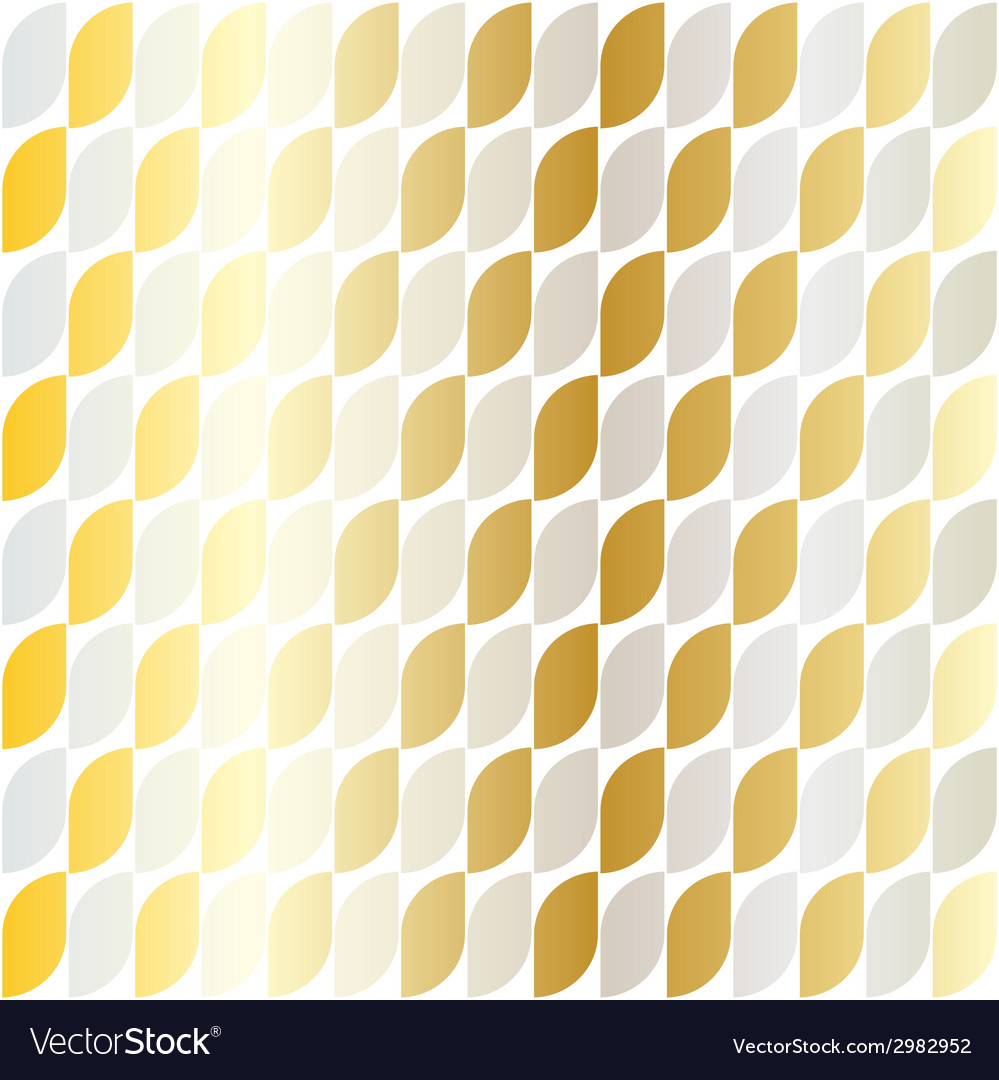 Silver gold pattern vector | Price: 1 Credit (USD $1)