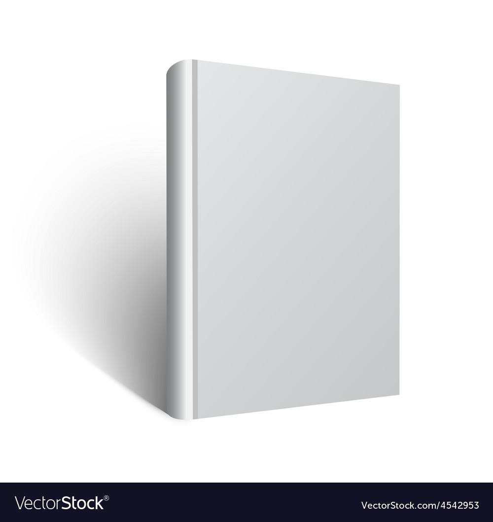 Blank book mockup eps vector   Price: 1 Credit (USD $1)