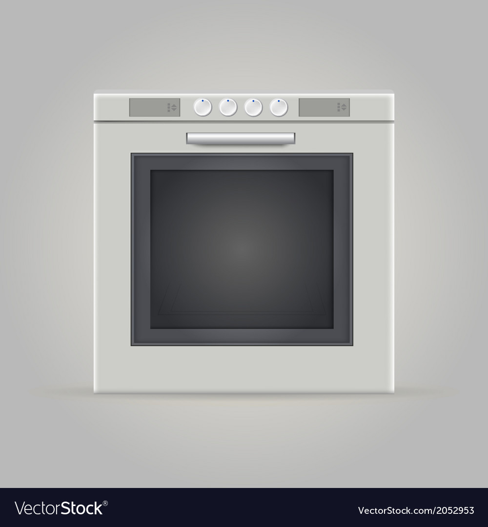 Oven vector | Price: 1 Credit (USD $1)