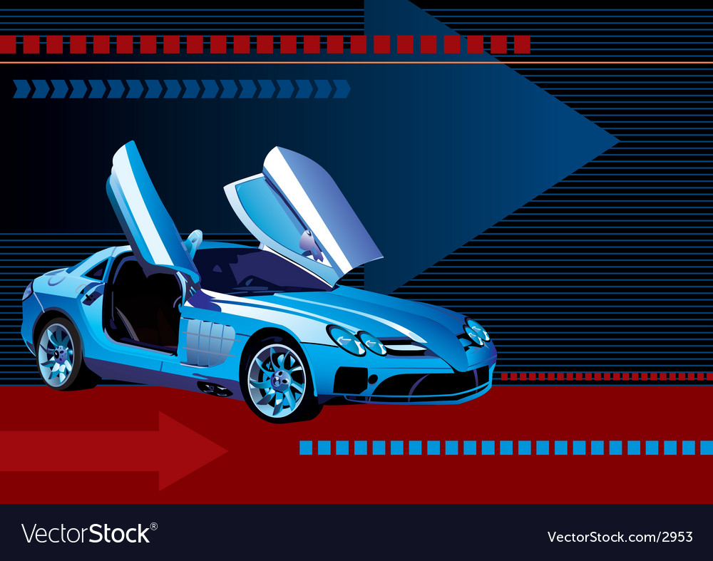 Sport car vector | Price: 3 Credit (USD $3)