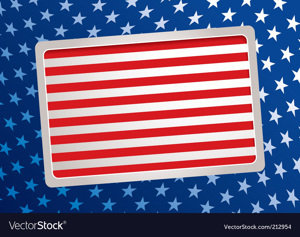 American inspired background vector | Price: 1 Credit (USD $1)