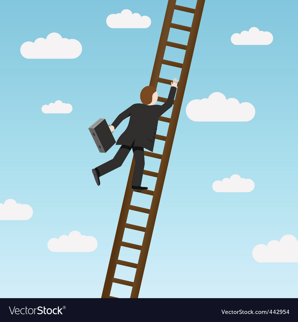 Climbing ladder vector | Price: 1 Credit (USD $1)