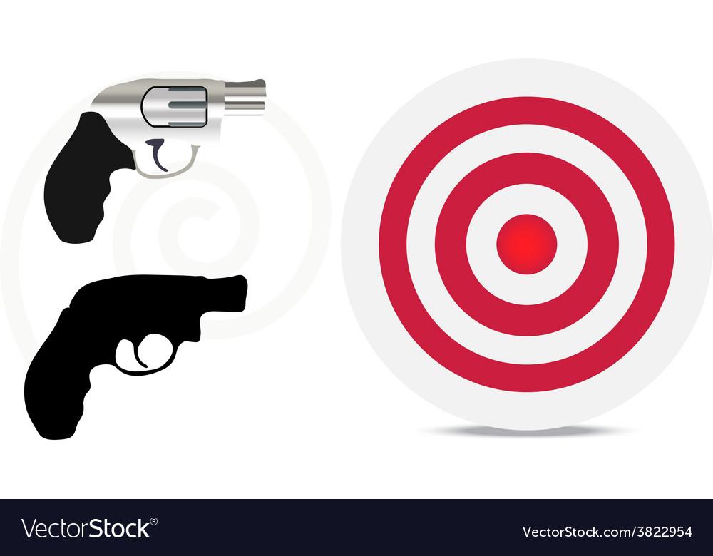 Firearm silhouette vector   Price: 1 Credit (USD $1)