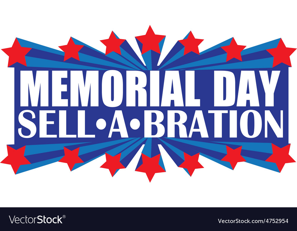 Memorial sellabration vector | Price: 1 Credit (USD $1)