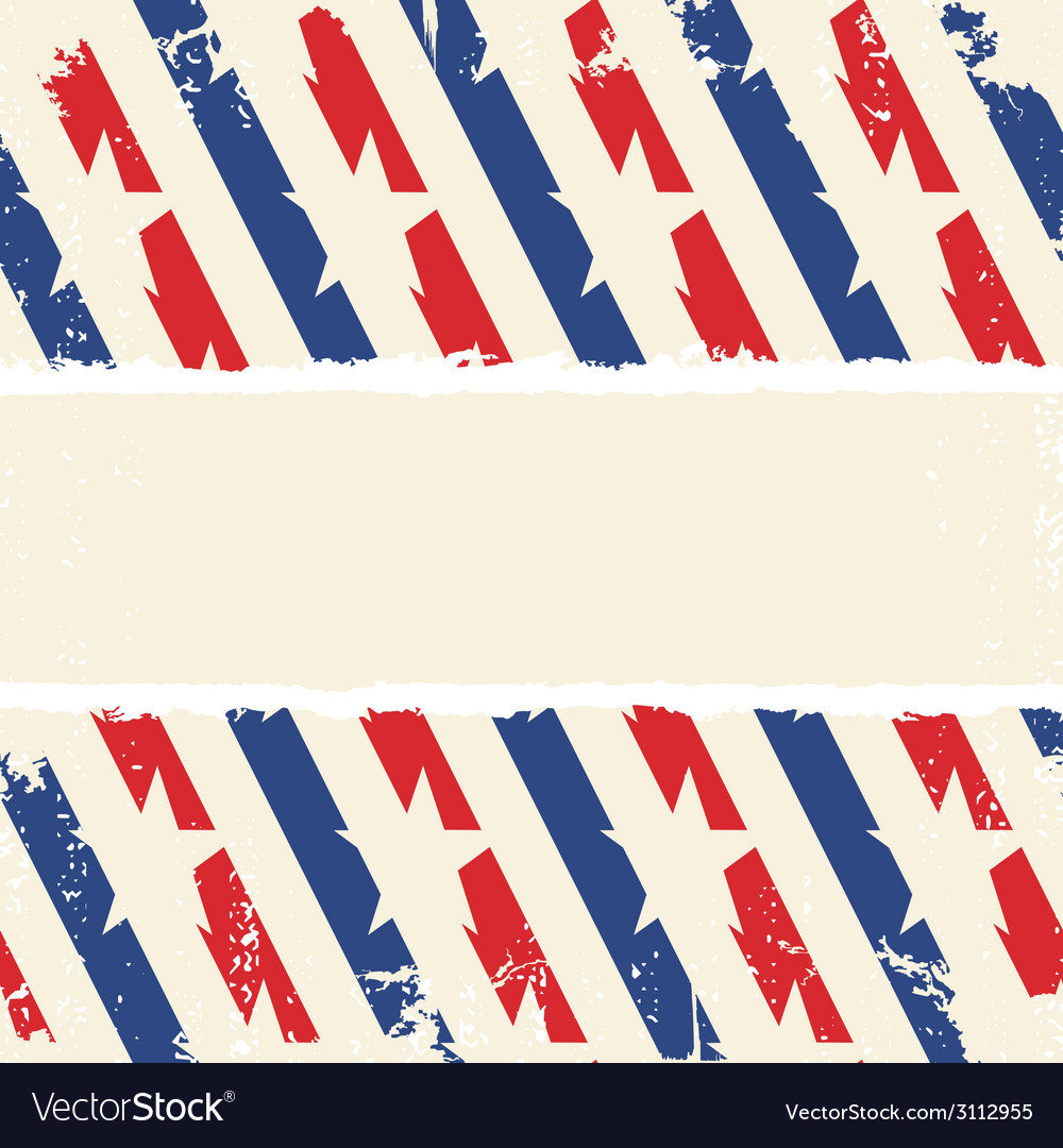 Abstract american background striped ripped paper vector | Price: 1 Credit (USD $1)