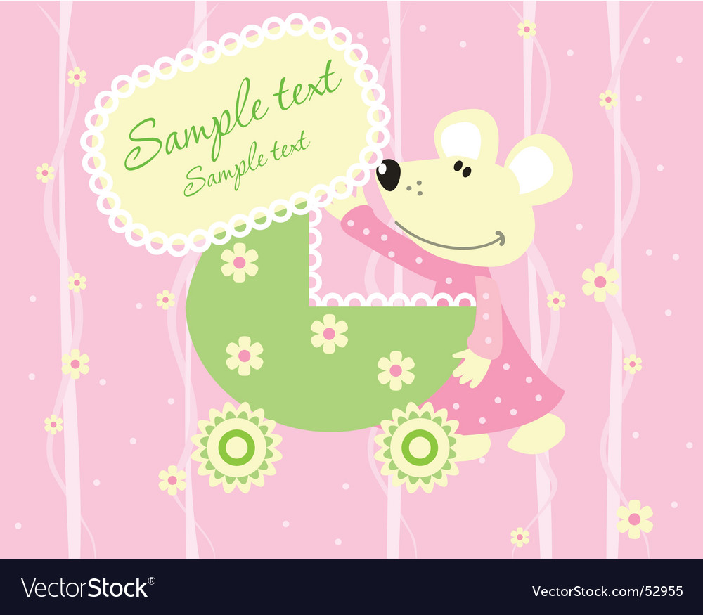 Card mouse vector | Price: 1 Credit (USD $1)
