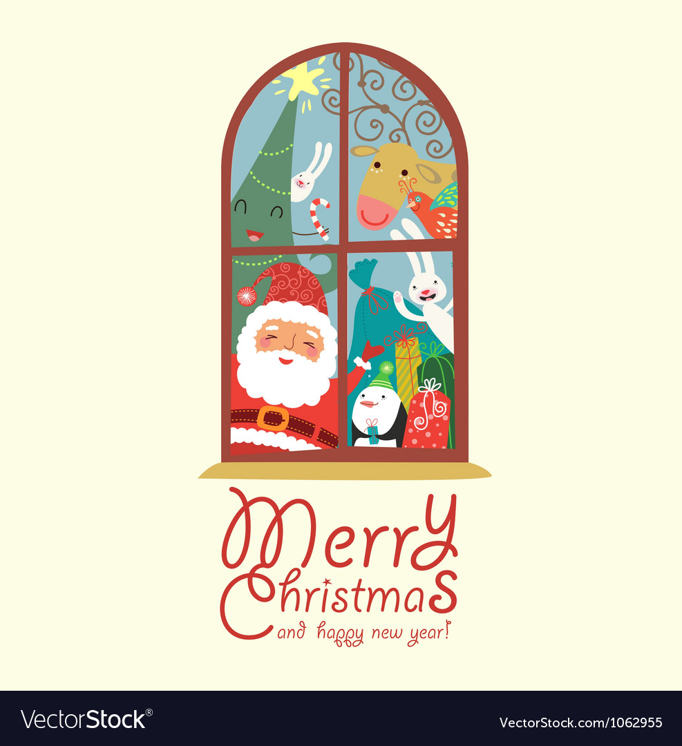 Happy christmas vector | Price: 3 Credit (USD $3)