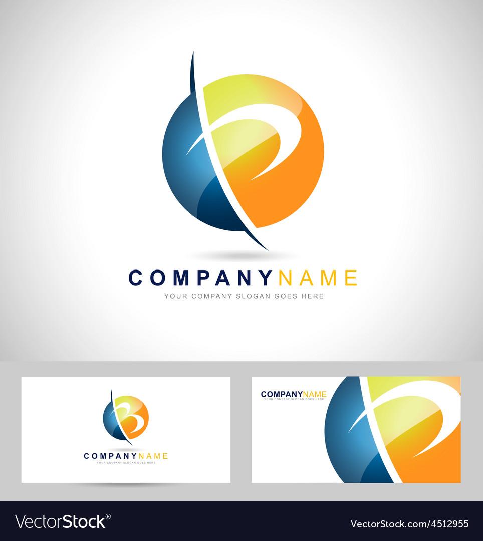 Letter p logo vector | Price: 1 Credit (USD $1)