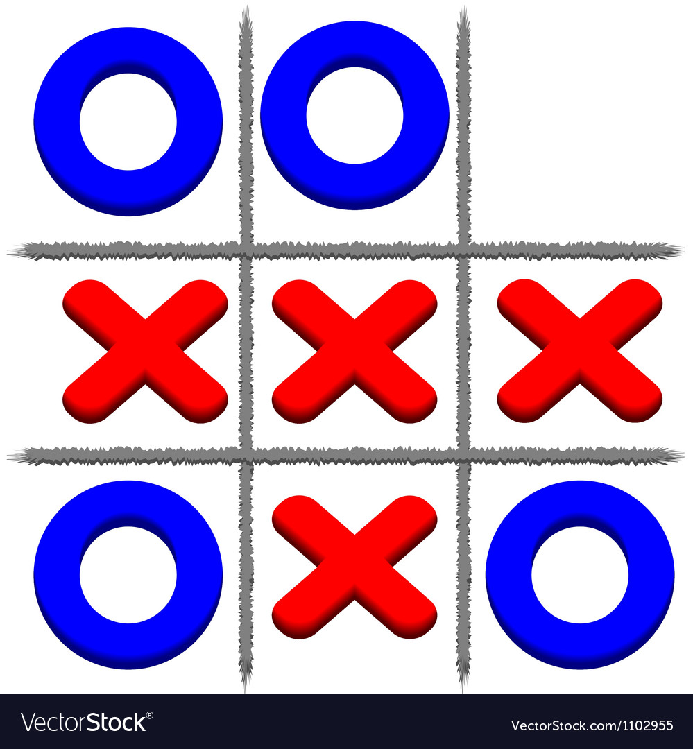 Tic tac toe vector | Price: 1 Credit (USD $1)