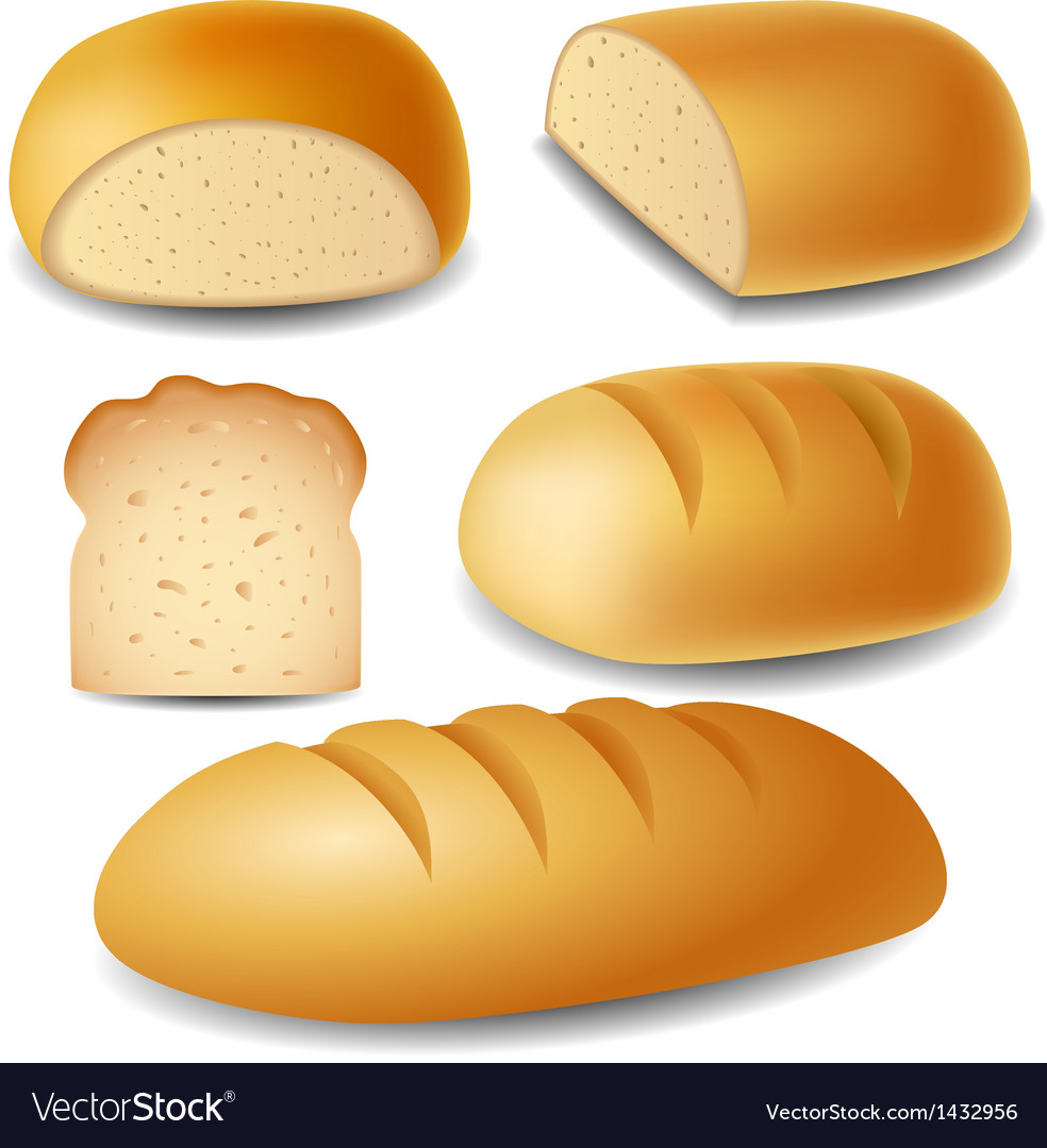 Bread set vector | Price: 3 Credit (USD $3)