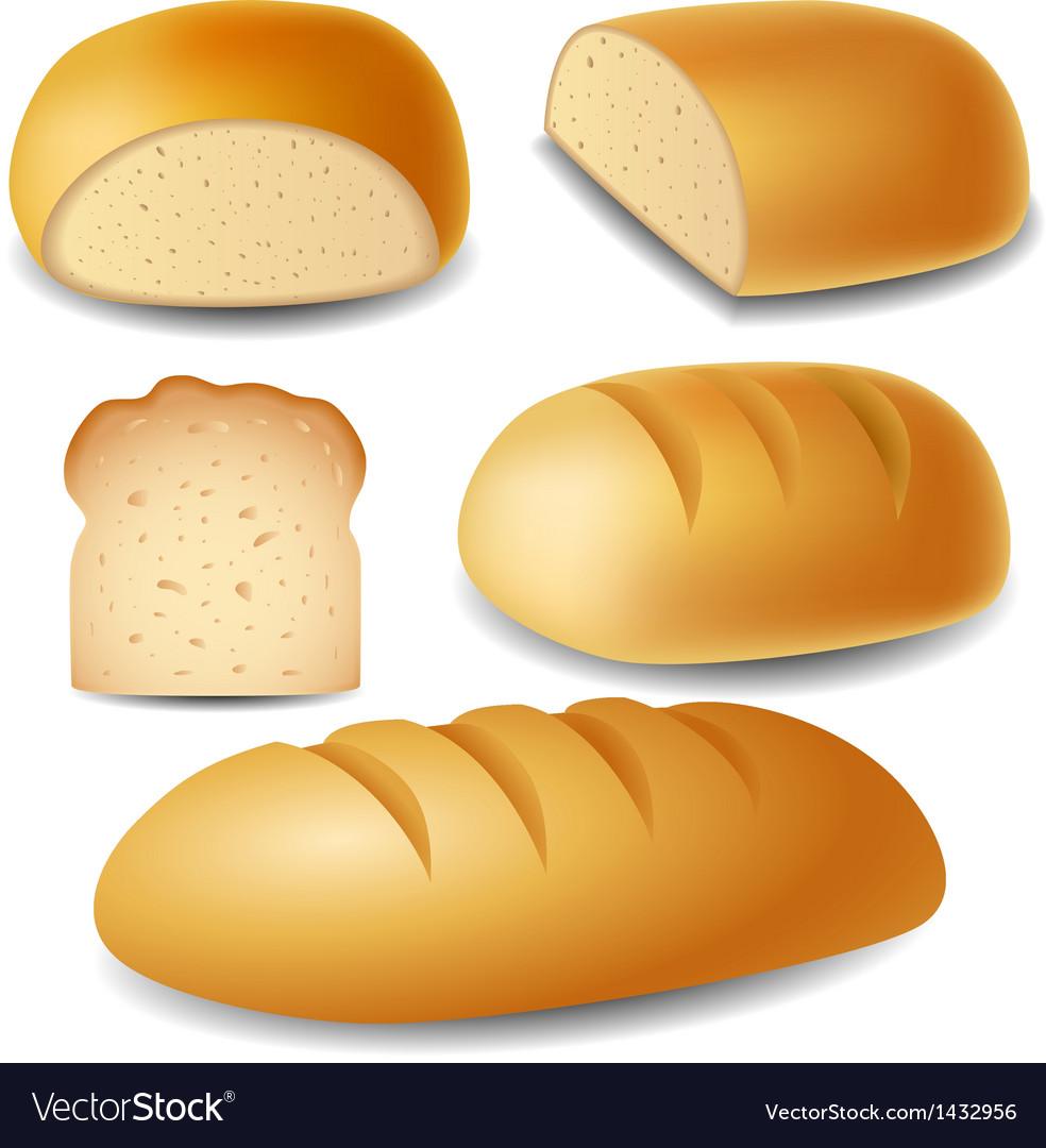 Bread set vector | Price: 3 Credit (USD $3)