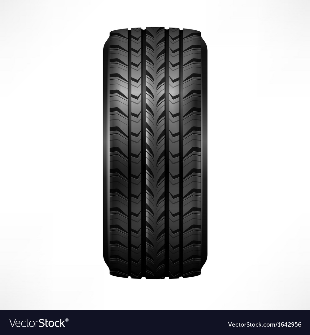 Rubber tire vector | Price: 1 Credit (USD $1)