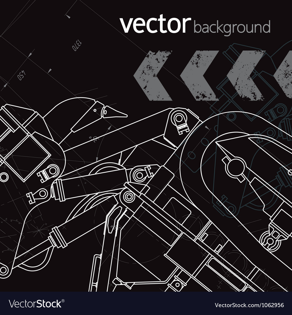 Technology background version 3 vector | Price: 1 Credit (USD $1)