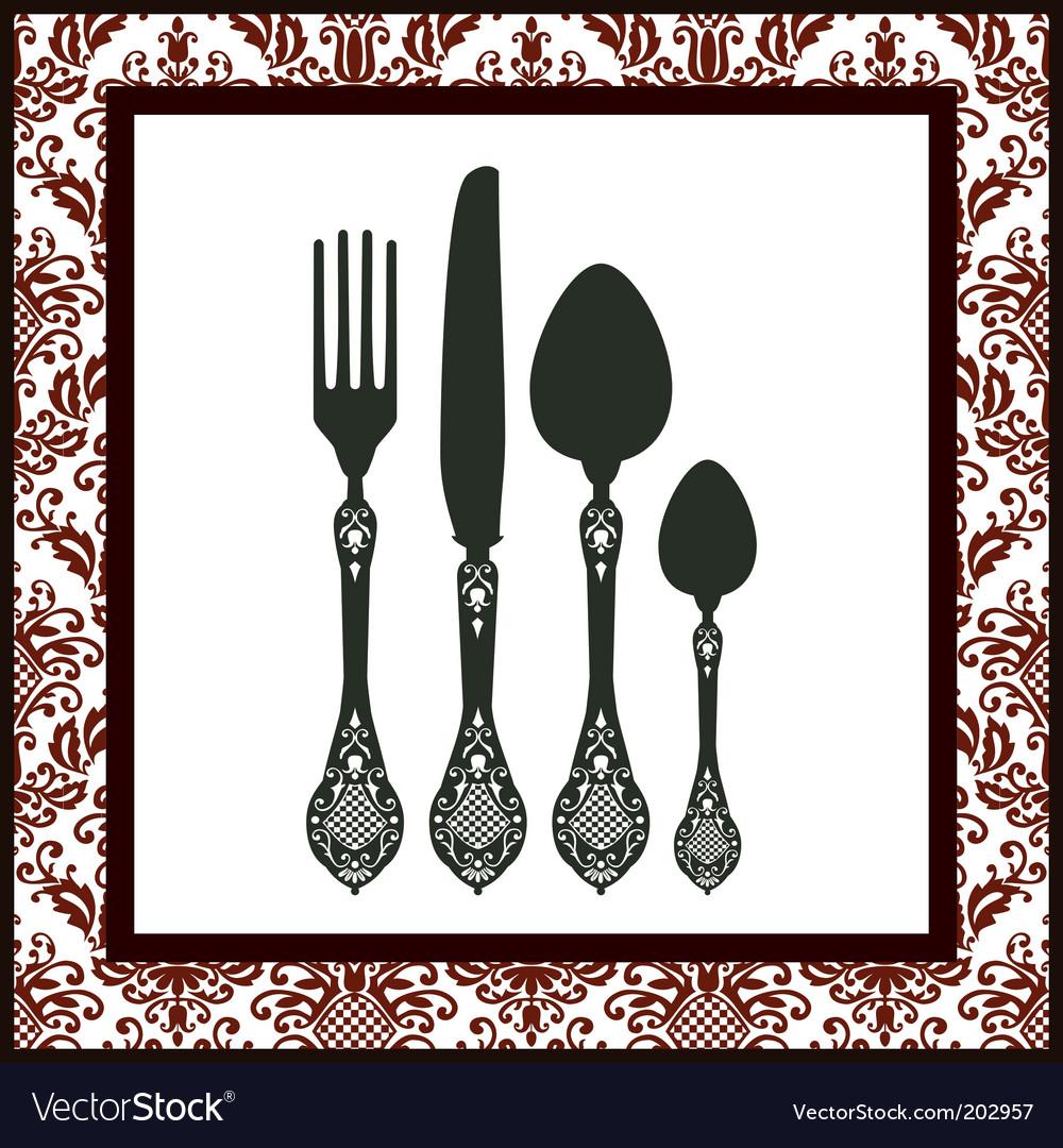 Cutlery vector | Price: 1 Credit (USD $1)