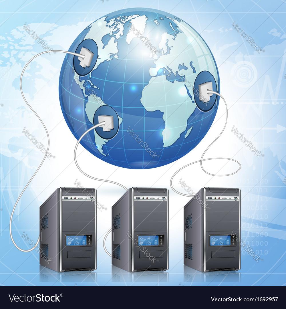 Global computing concept vector | Price: 1 Credit (USD $1)