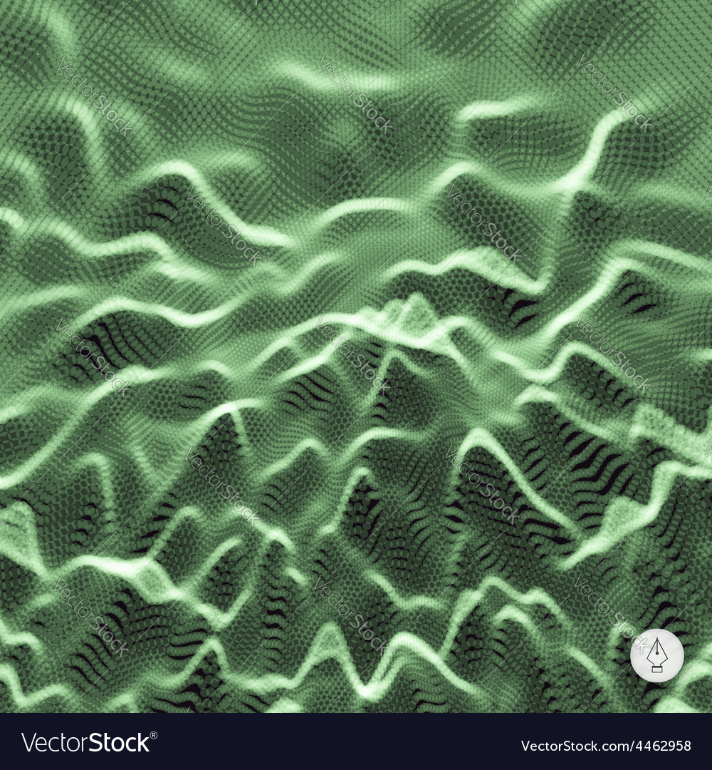 Abstract grid background 3d technology vector | Price: 1 Credit (USD $1)