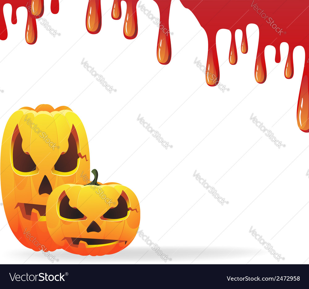 Bloody halloween background vector | Price: 1 Credit (USD $1)