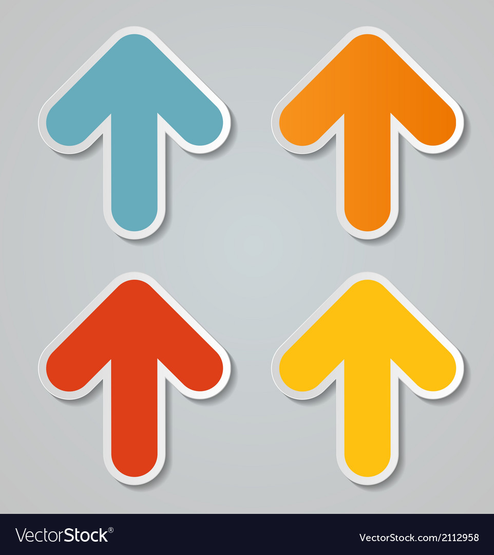Infographic arrow icon vector | Price: 1 Credit (USD $1)
