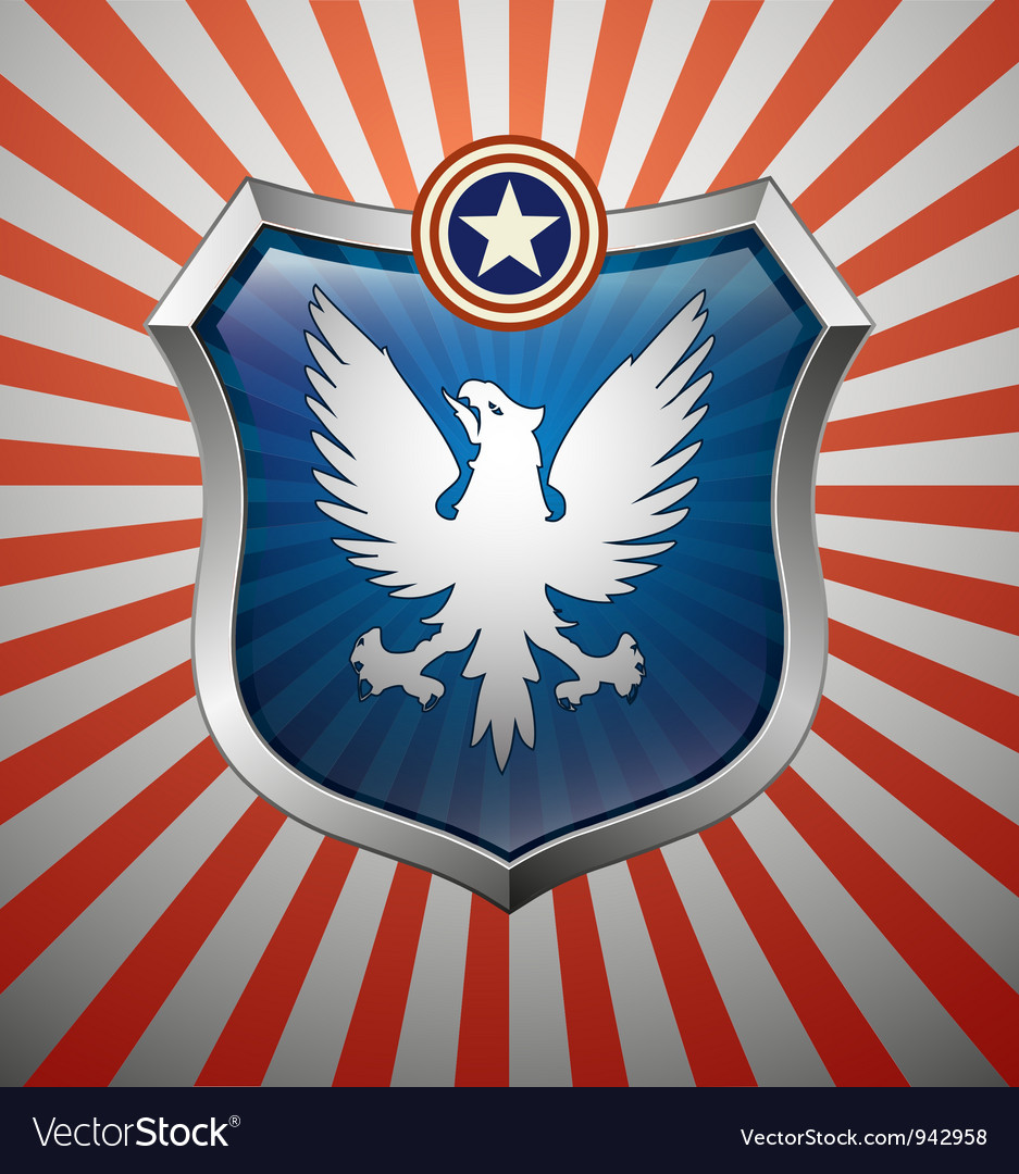 Usa symbolic vector | Price: 1 Credit (USD $1)