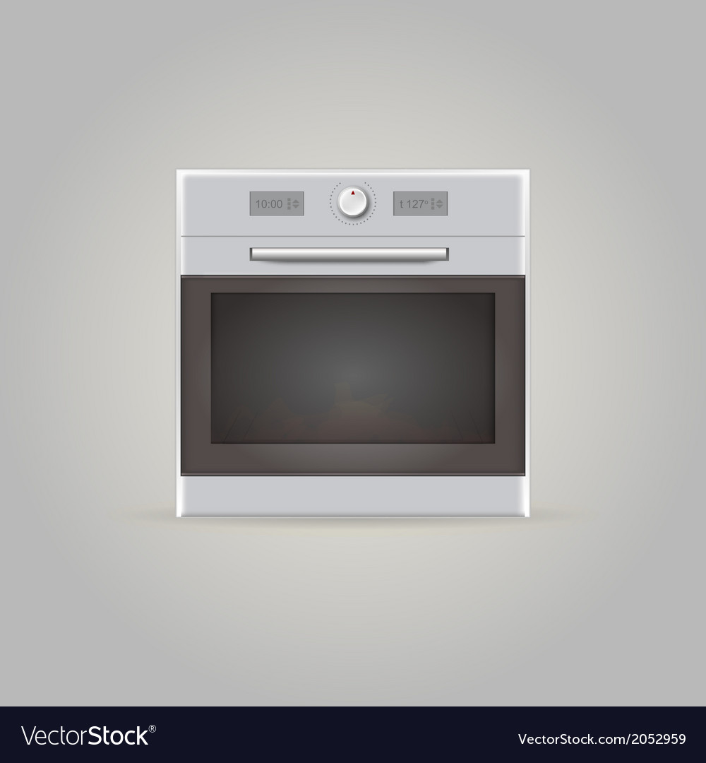 Ilustration of oven vector | Price: 1 Credit (USD $1)