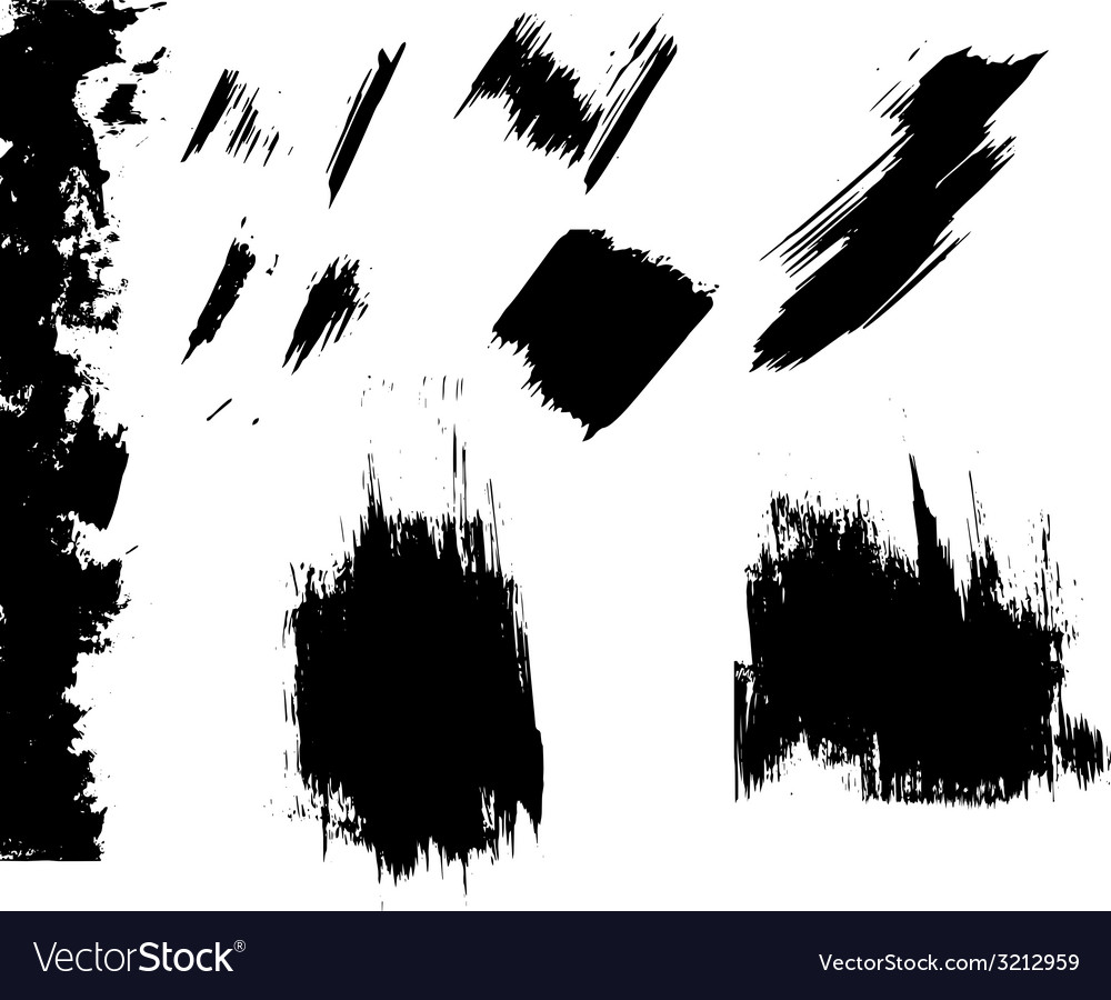 Ink blots grunge vector | Price: 1 Credit (USD $1)