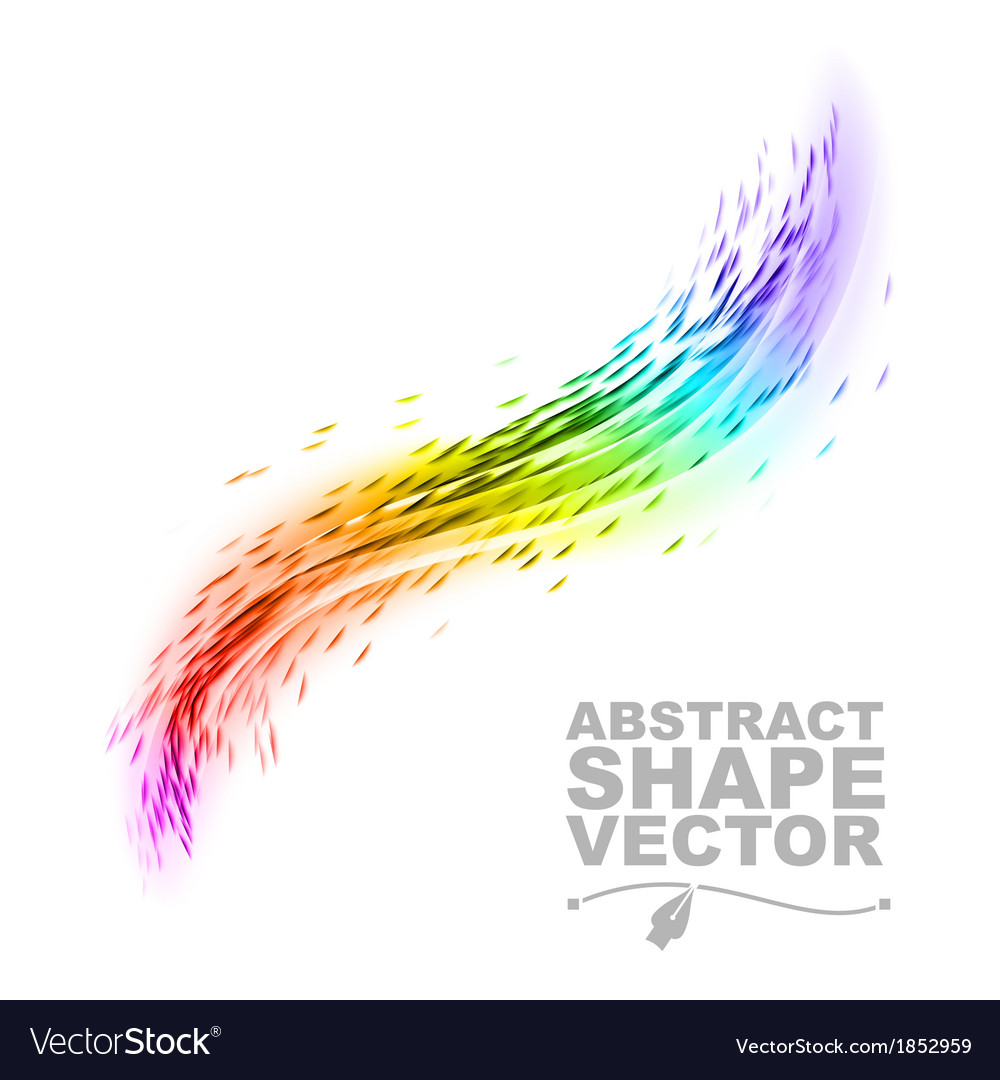 Wave abstract vector | Price: 1 Credit (USD $1)