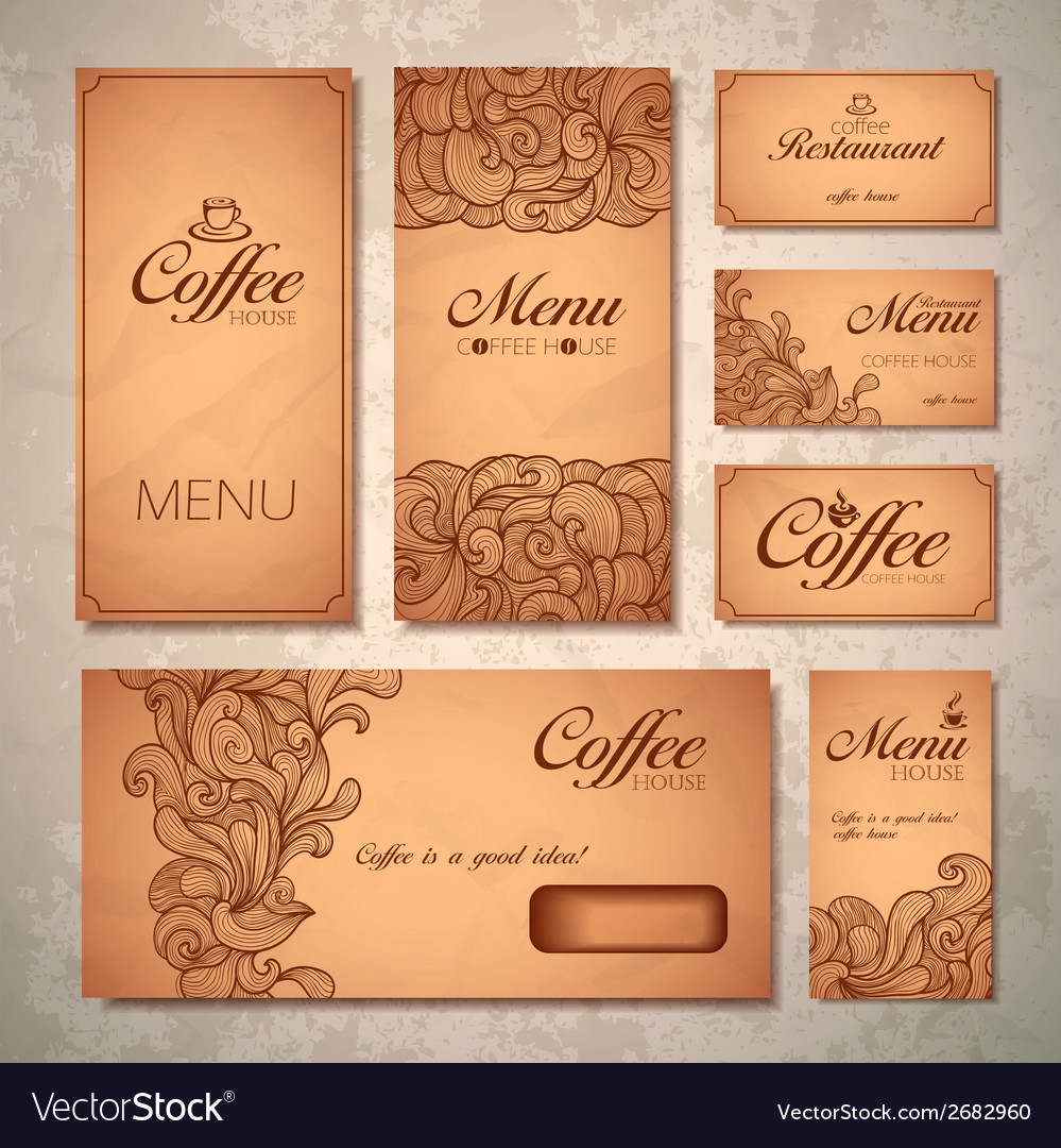 Coffee concept design vector | Price: 1 Credit (USD $1)
