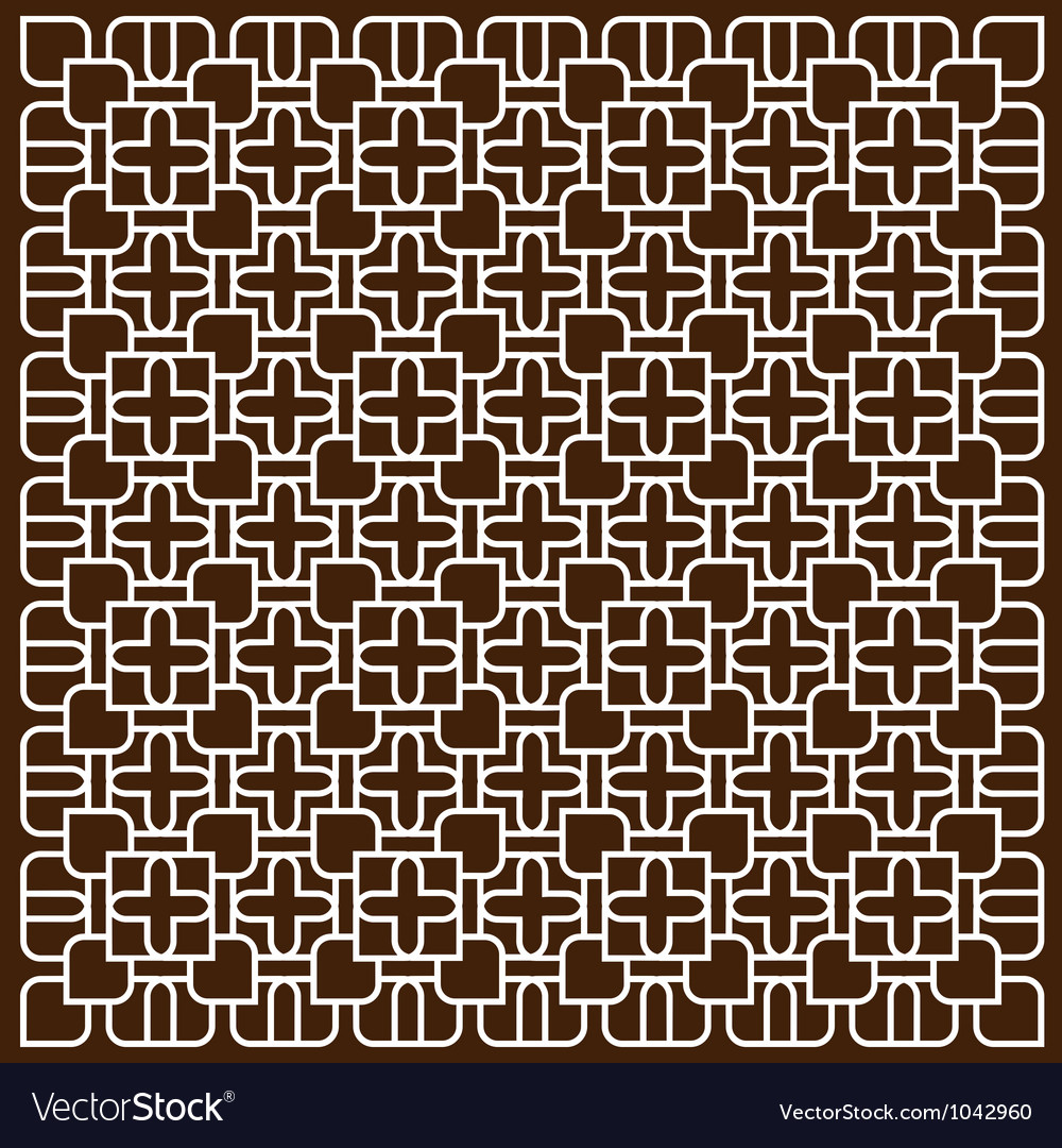 White pattern in islamic style vector | Price: 1 Credit (USD $1)