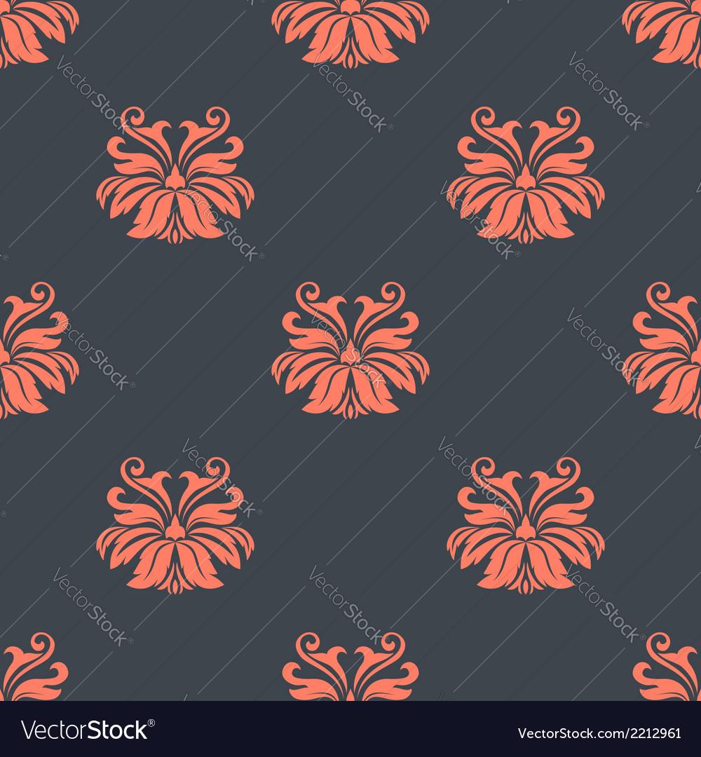 Dainty vintage damask style pattern vector | Price: 1 Credit (USD $1)