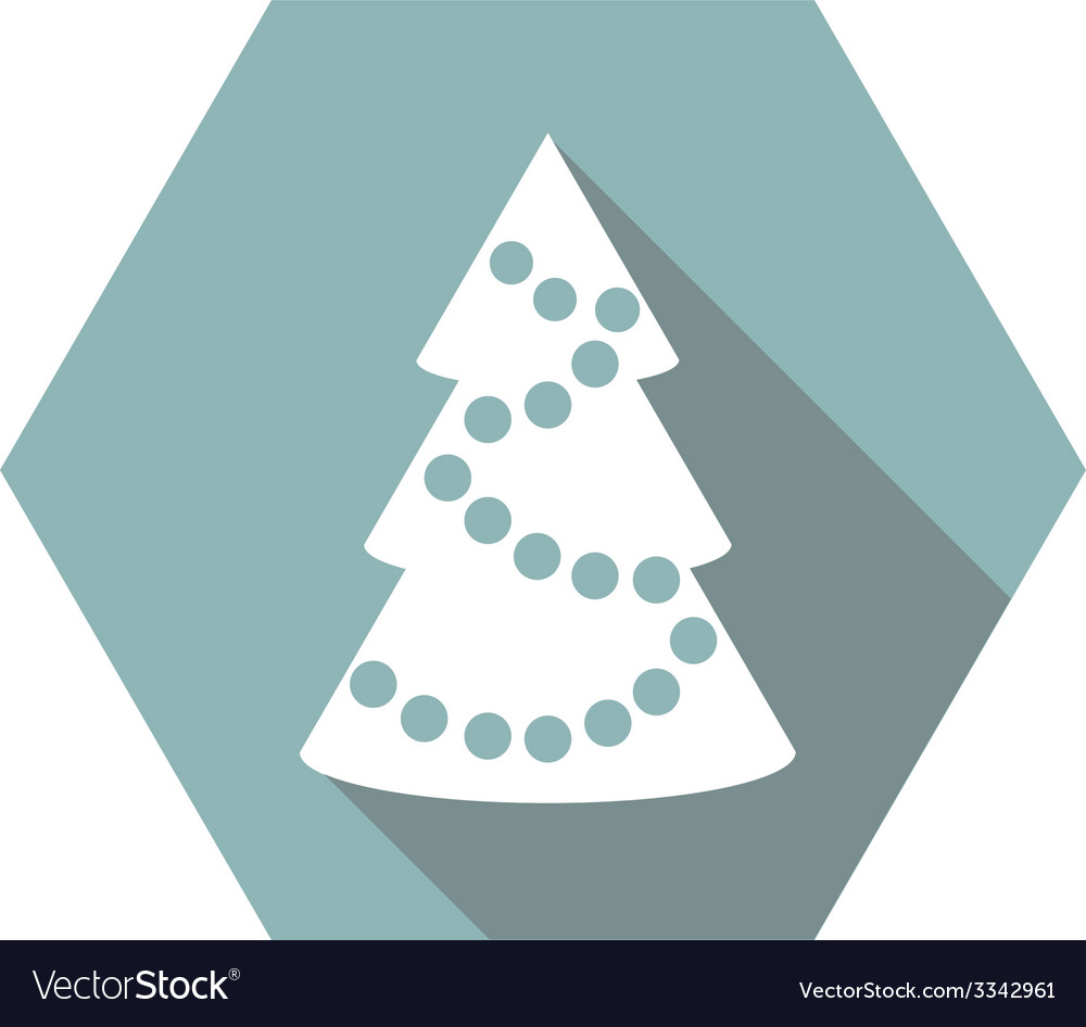 Flat simple christmas elements vector | Price: 1 Credit (USD $1)