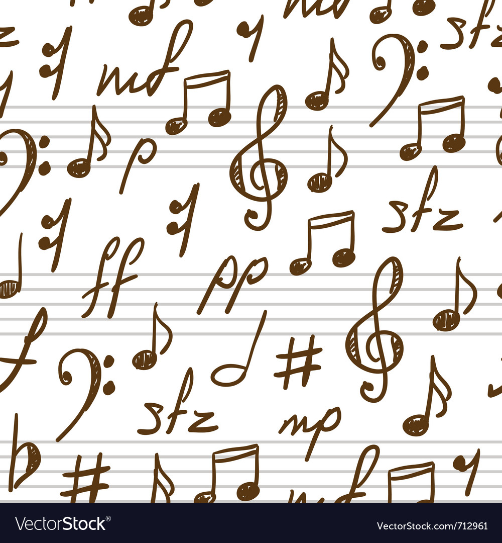 Musical patterns vector | Price: 1 Credit (USD $1)