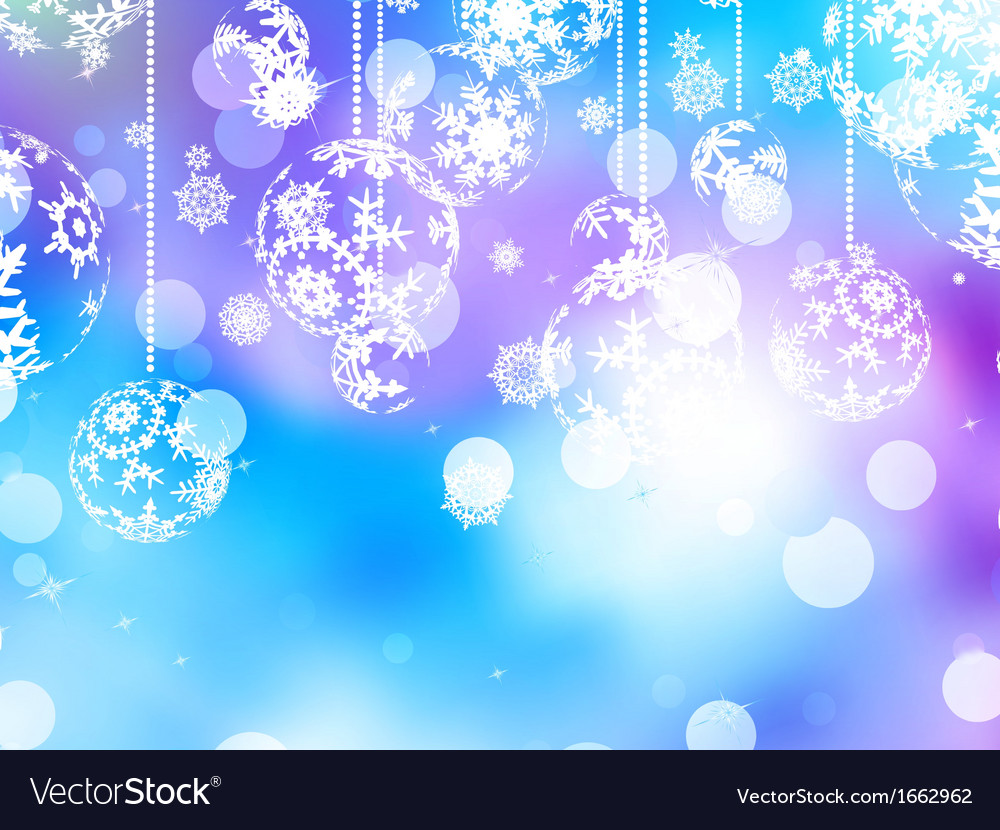Elegant blue christmas background eps 10 vector | Price: 1 Credit (USD $1)