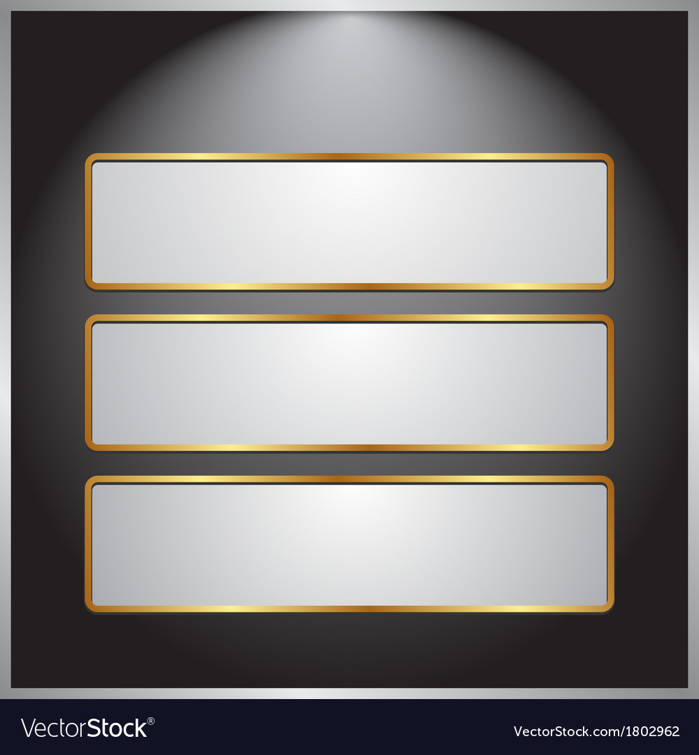 Ight banners vector | Price: 1 Credit (USD $1)
