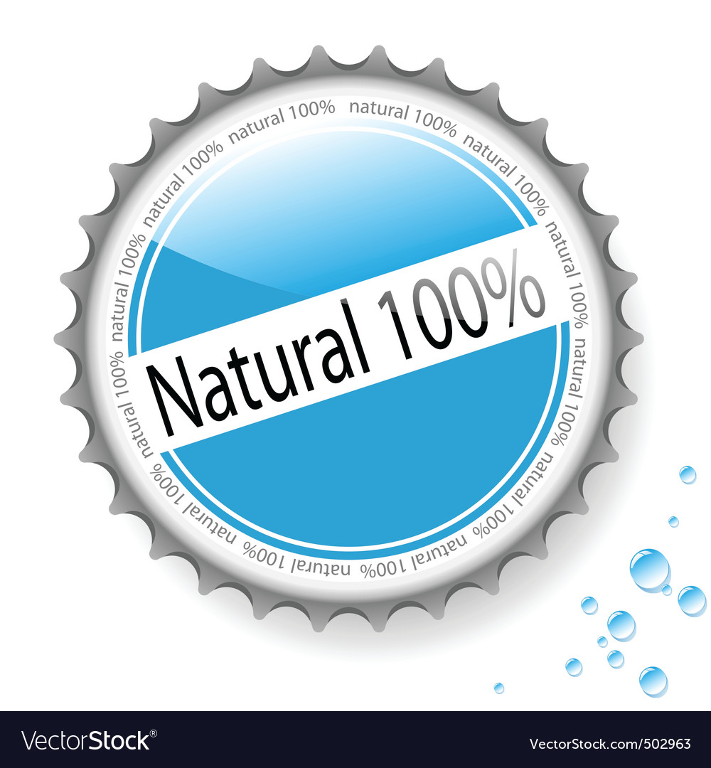 Bottle cap vector | Price: 1 Credit (USD $1)