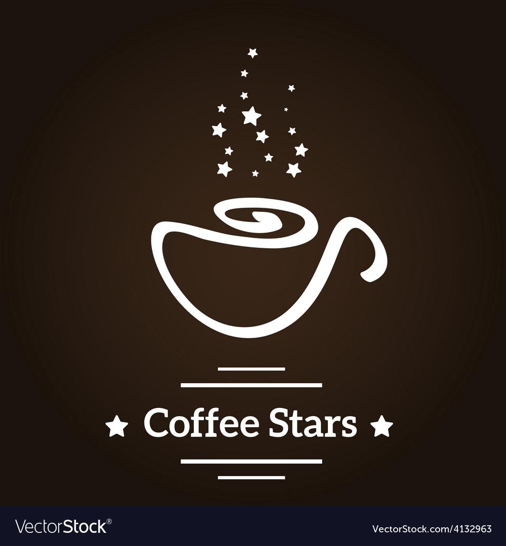Coffee stars vector | Price: 1 Credit (USD $1)