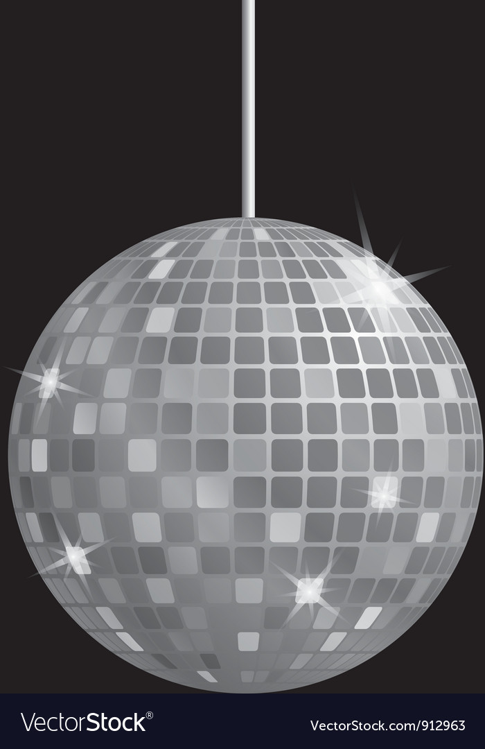 Disco mirror ball vector | Price: 1 Credit (USD $1)
