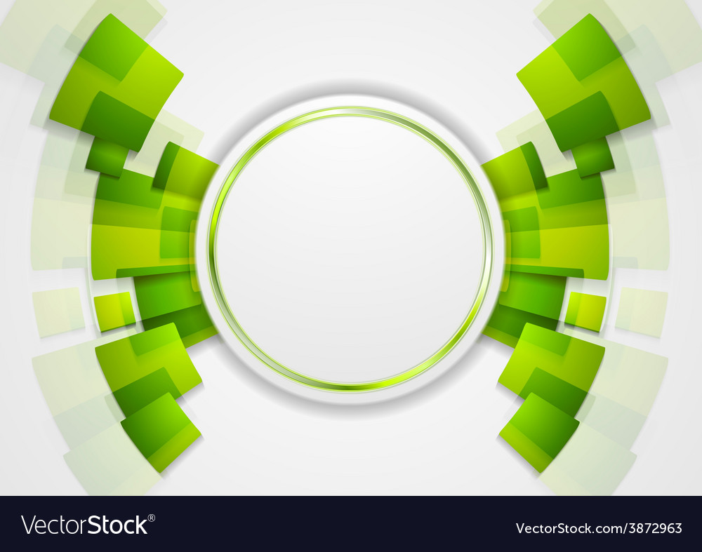 Green shiny hi-tech background vector | Price: 1 Credit (USD $1)