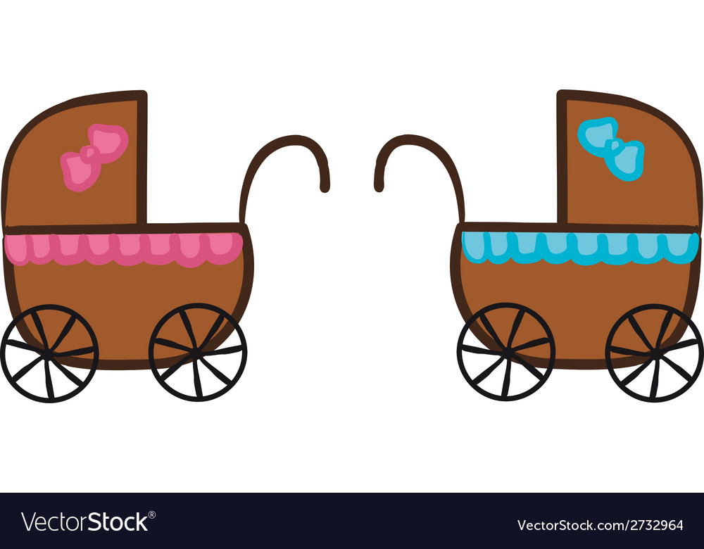 Isolated stroller vector | Price: 1 Credit (USD $1)